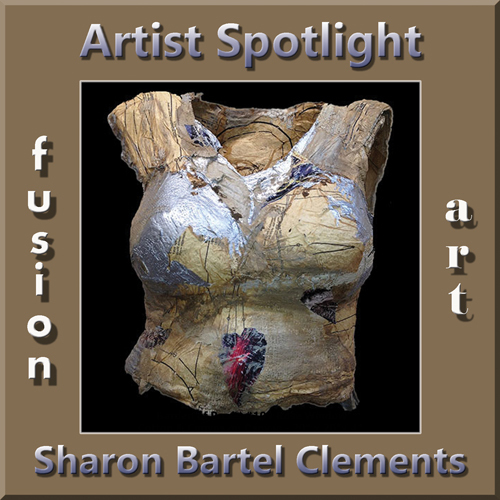 "Sharon Bartel Clements is Fusion Art's 3-Dimensional ""Artist Spotlight"" Winner for February 2018"